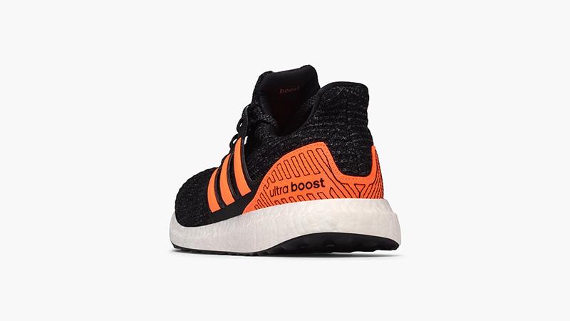 adidas Ultra Boost Black Solar Orange EH1423 back