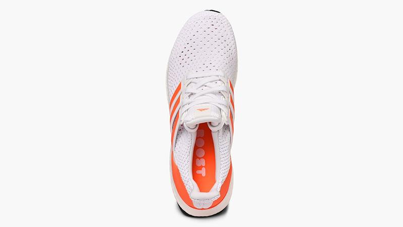 adidas Ultra Boost Clima White Orange EG8077 middle