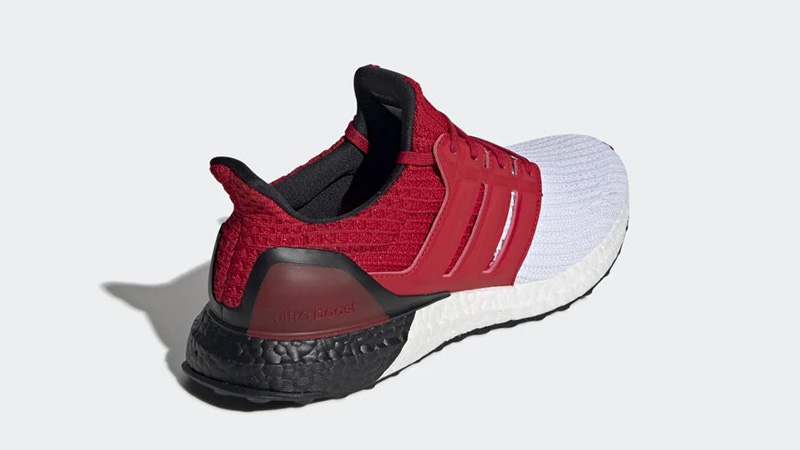 adidas Ultra Boost White Red G28999 back