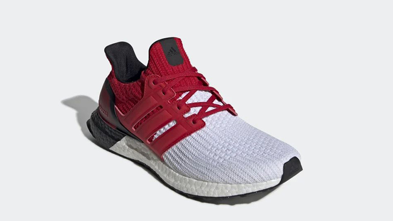 adidas Ultra Boost White Red G28999 front