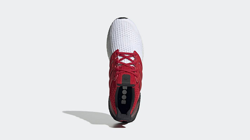 adidas Ultra Boost White Red G28999 middle
