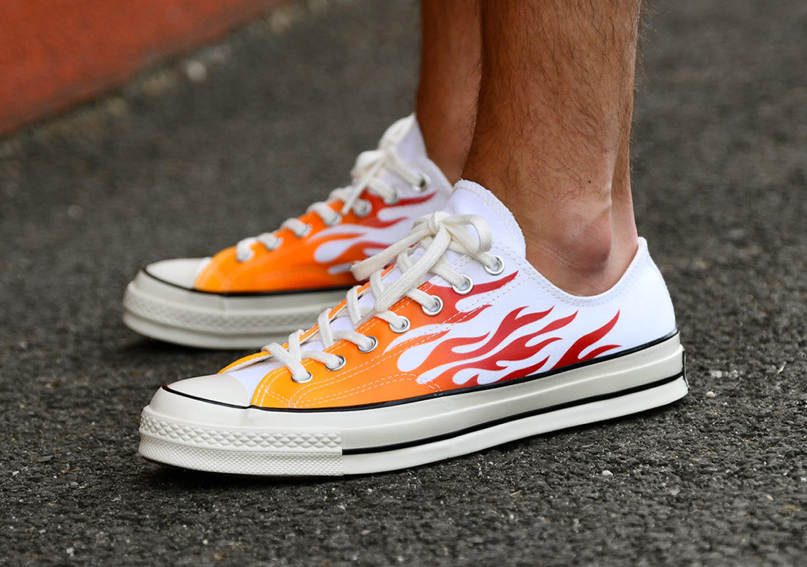 Bring The Heat This Season With These Fire Converse Chuck