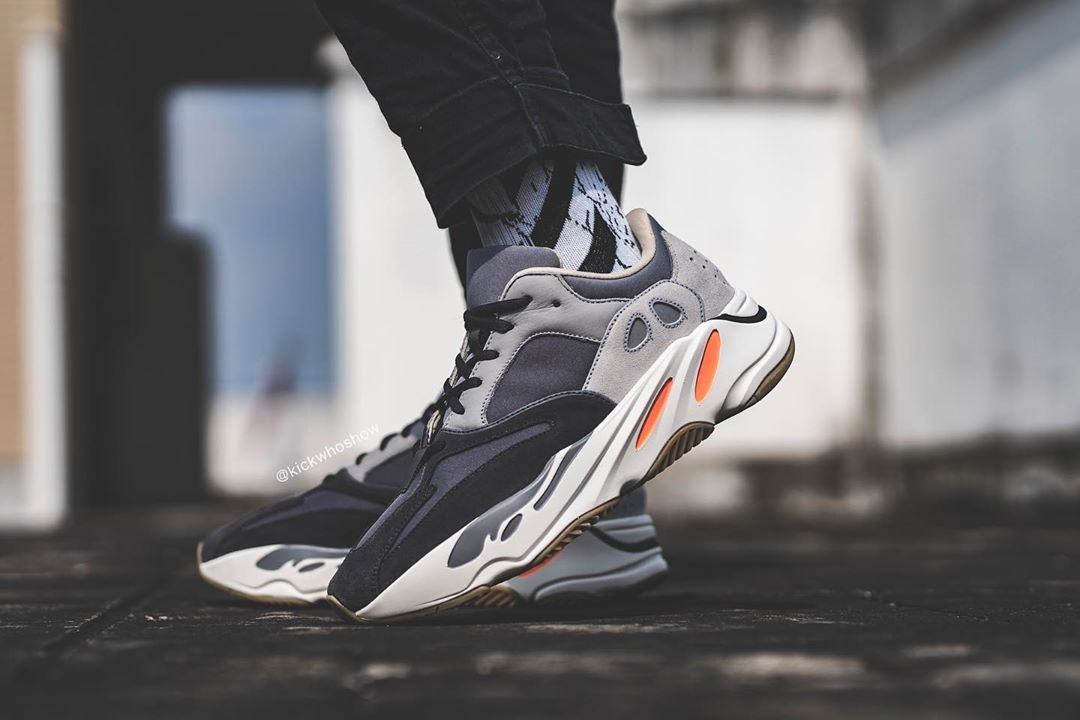 Here's Your First On Foot Look At The Yeezy Boost 700 Magnet 3