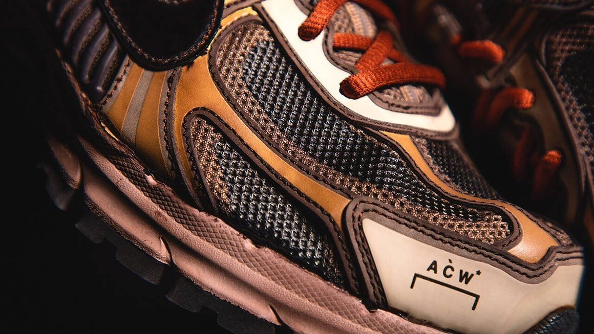 A Detailed Look At The A-COLD-WALL* x Nike Zoom Vomero +5 'Solarised'