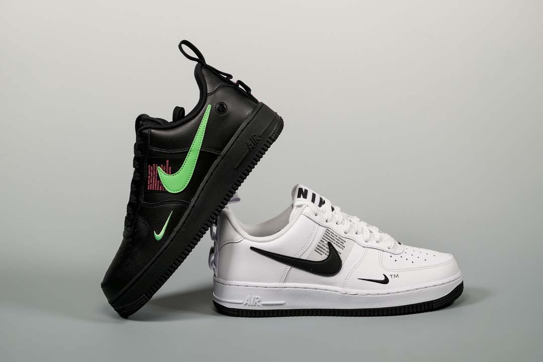 Nike Air Force 1 Low Utility BlackScream Green