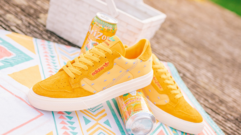 AriZona Iced Tea x adidas Continental Vulc Mucho Mango