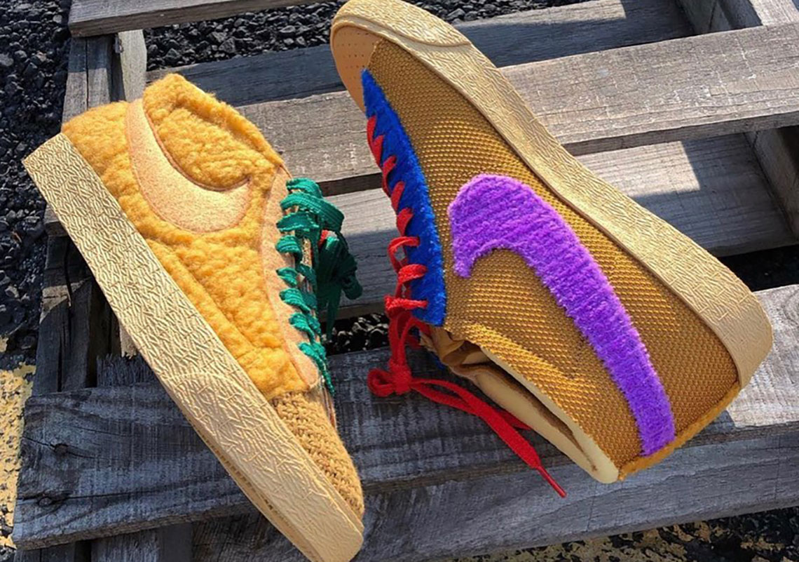 There Are 117,649 Ways Your Can Customise The CPFM x Nike Blazer Mid