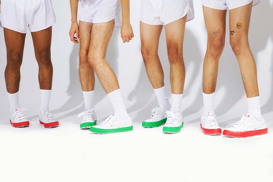 Tyler, the Creator x Converse Unveil The GOLF le FLEUR* 'Colorblock' Pack