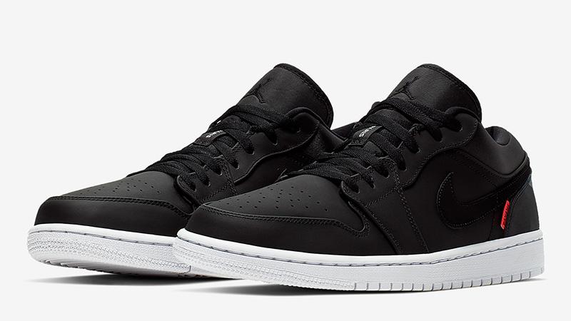 Jordan 1 Low PSG Black