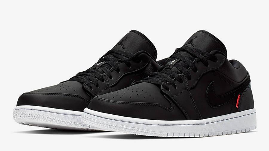 Jordan 1 Low PSG Black | Where To Buy