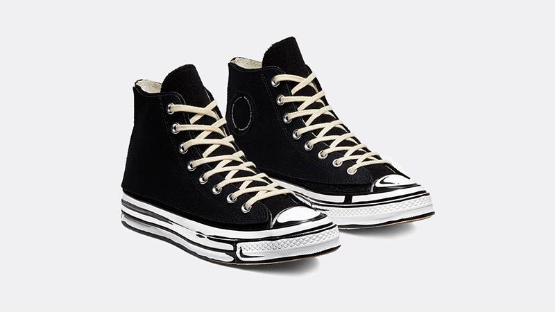 Joshua Vides x Converse Chuck 70s Hi Black