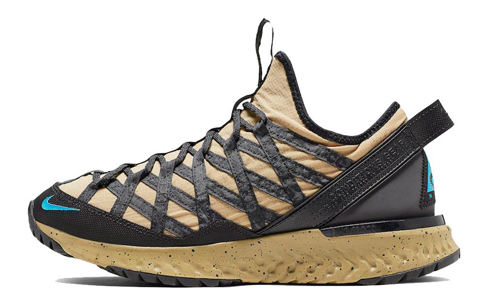 Nike ACG React Terra Gobe Gold Black BV6344-200 front