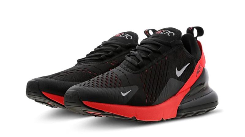 Nike Air Max 270 Black Crimson AH8050-026 front