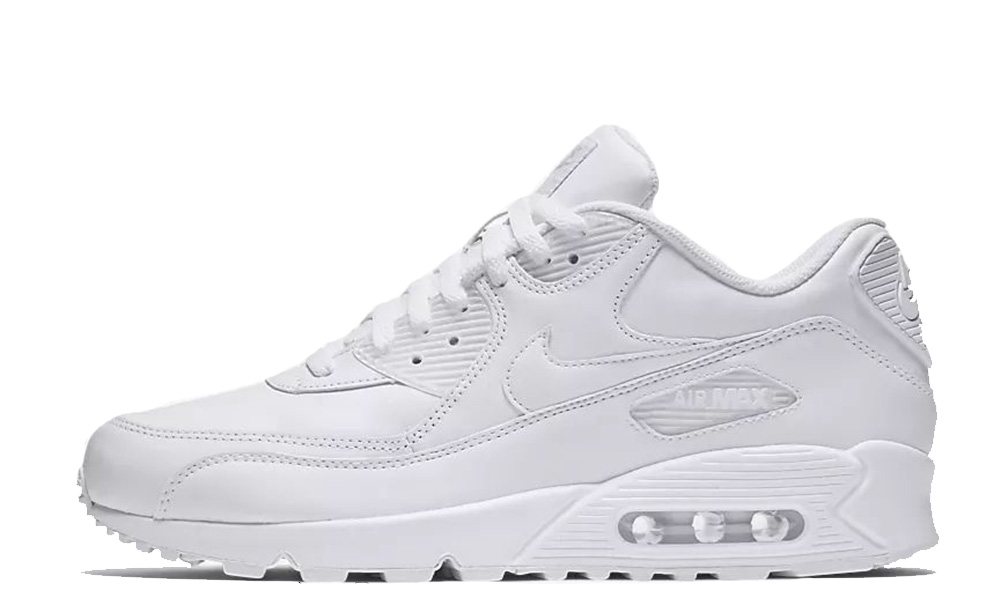 Nike Air Max 90 Leather White 302519-113
