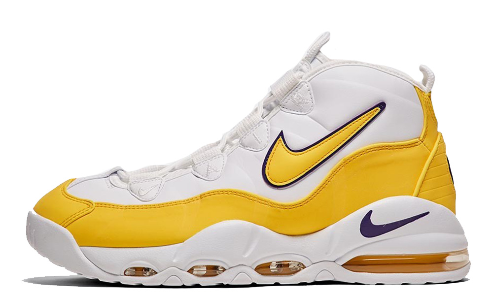 Nike Air Max Uptempo 95 White Amarillo