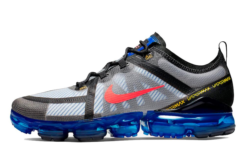 Nike Air VaporMax 2019 Black Blue AR6631-008