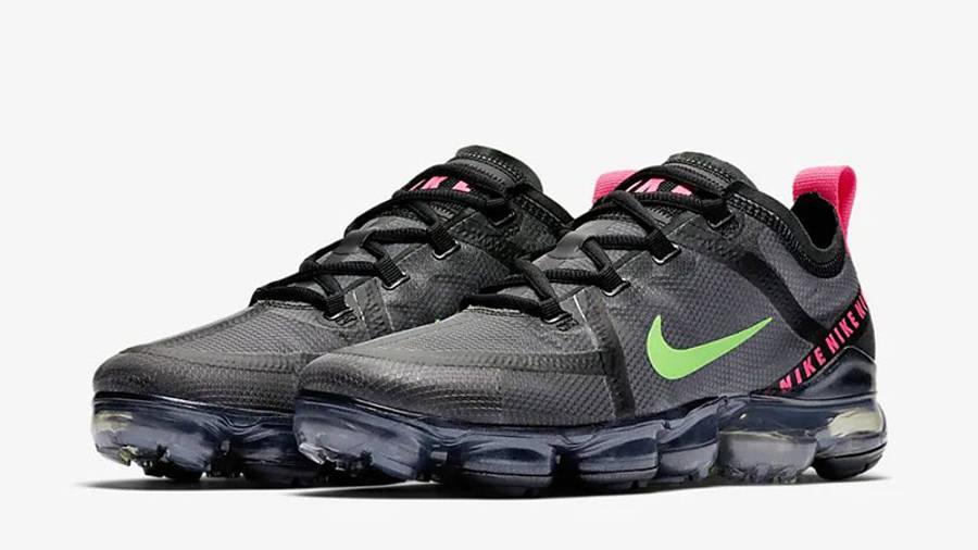 Nike Air VaporMax 2019 Black Pink Green