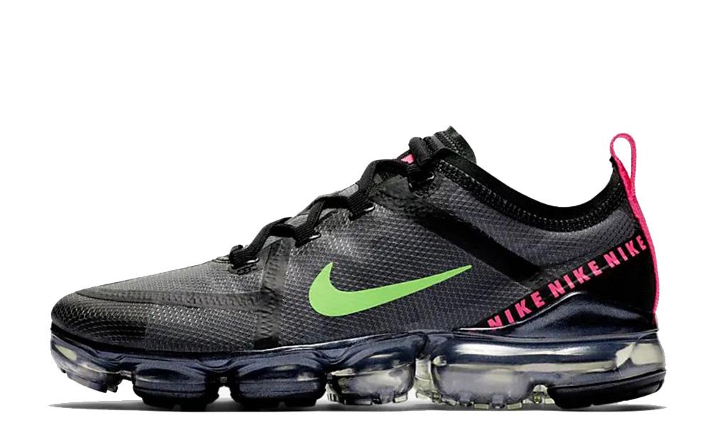 Nike Air VaporMax 2019 Black Pink Green CQ4610-001