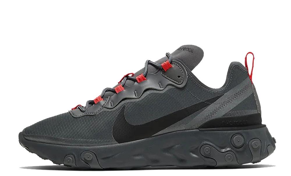 Nike React Element 55 Grey Black CQ4809-001