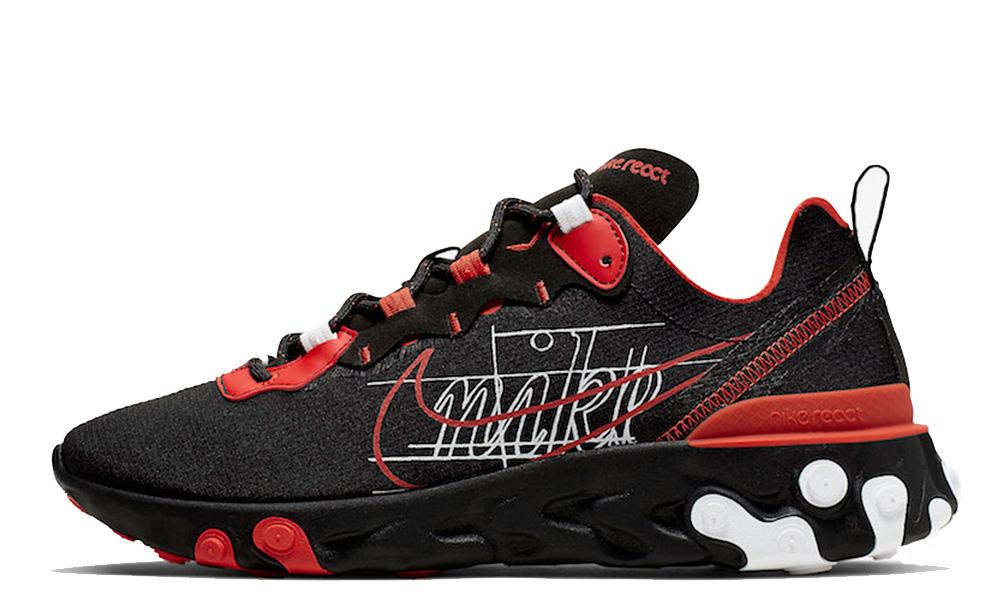 Nike React Element 55 Script Swoosh CK9285-001
