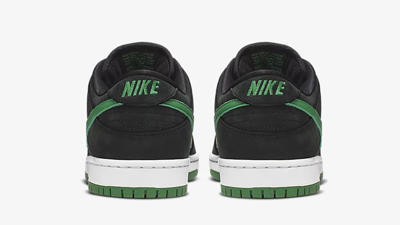 Nike SB Dunk Low Pro J-Pack Black Green BQ6817-005 back