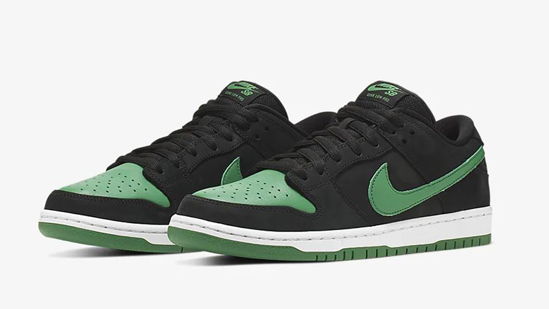 Nike SB Dunk Low Pro J-Pack Black Green BQ6817-005 front