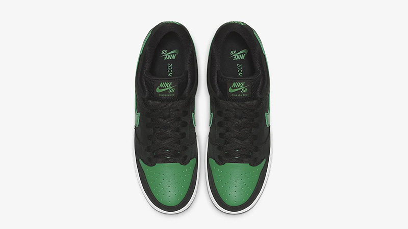 Nike SB Dunk Low Pro J-Pack Black Green BQ6817-005 middle