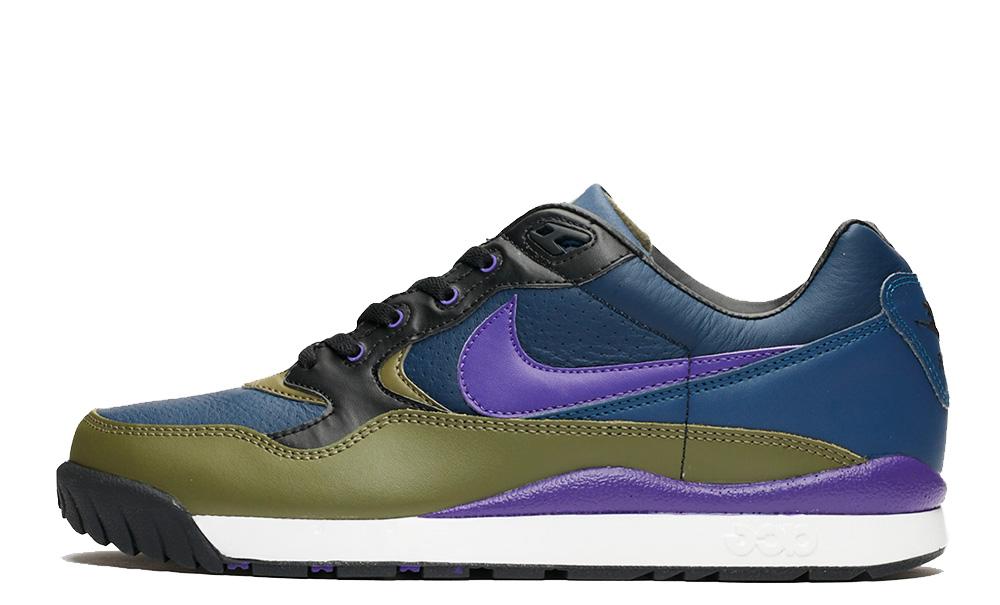 Nike Wildwood ACG Midnight Navy Purple AO3116-400 on foot