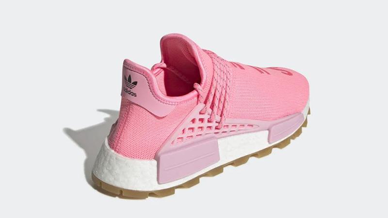 Pharrell x adidas Hu NMD Gum Pack Pink EG7740 back