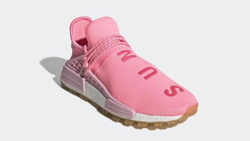 Pharrell x adidas Hu NMD Gum Pack Pink EG7740 front