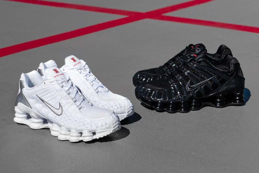 Nike Shox TL 'White' And 'Black