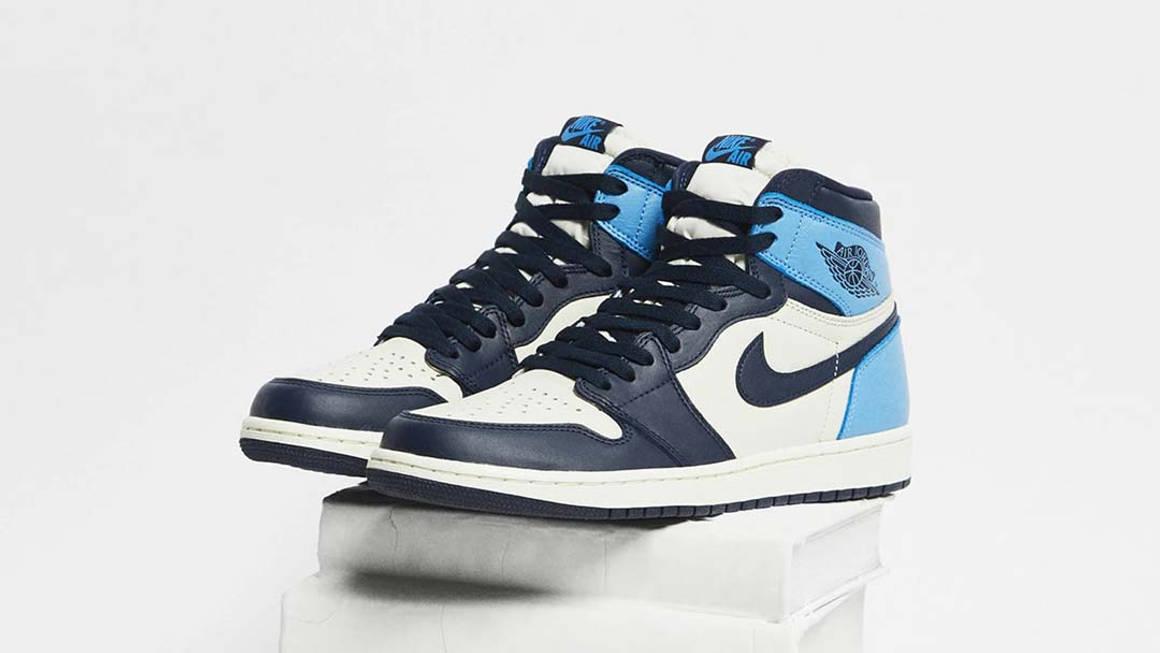 Nike Air Jordan 1 Obsidian UNC Raffles