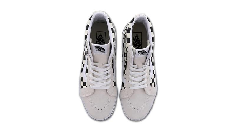 Vans Sk8 Hi White Black VN0A4BV43H1 middle