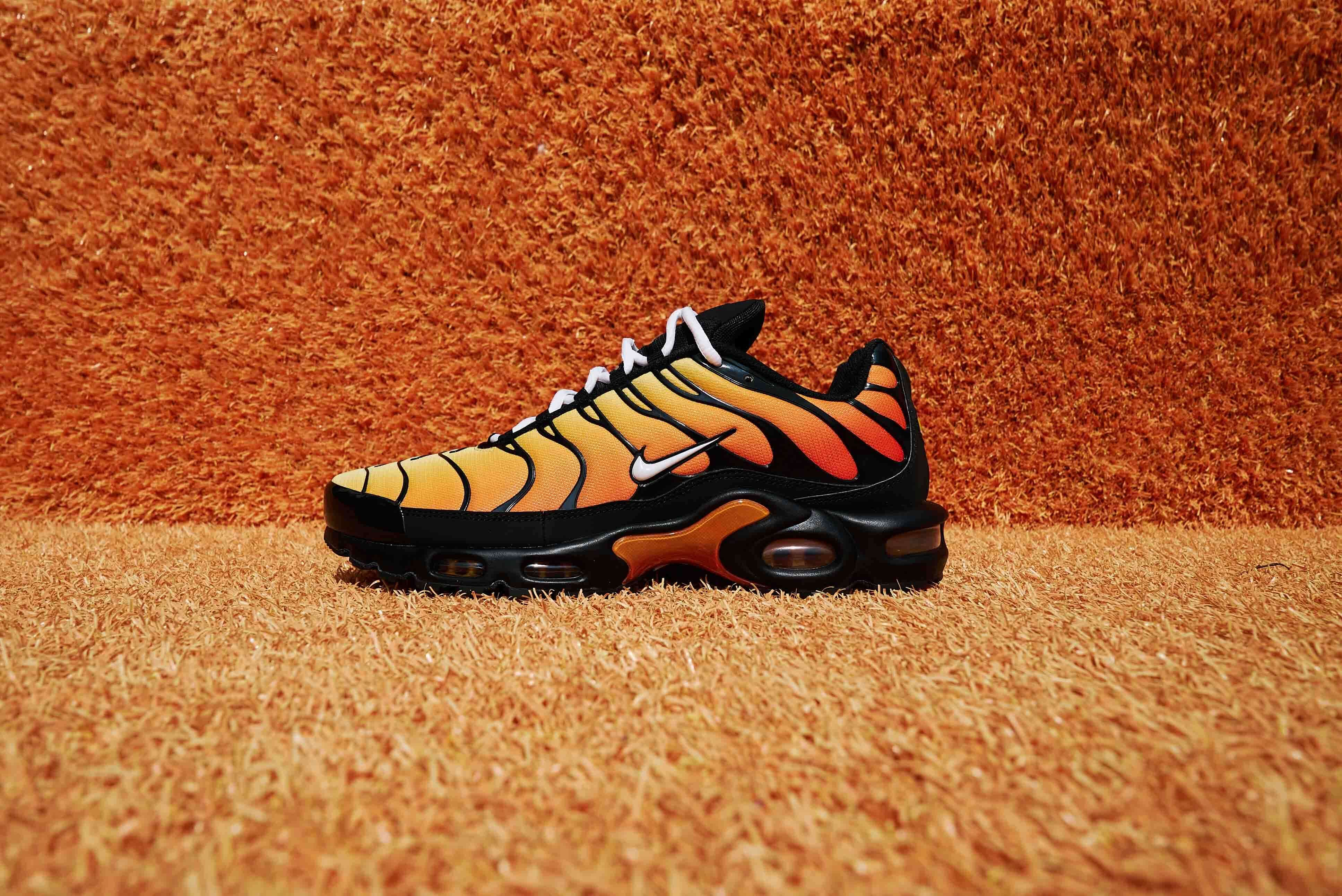 The Nike TN Air Max Plus 'Tiger' Is FLAMES