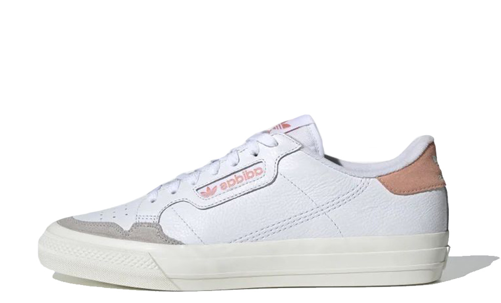 adidas Continental Vulc White Pink EF3535