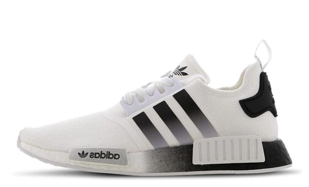 adidas NMD R1 White Black EG73410
