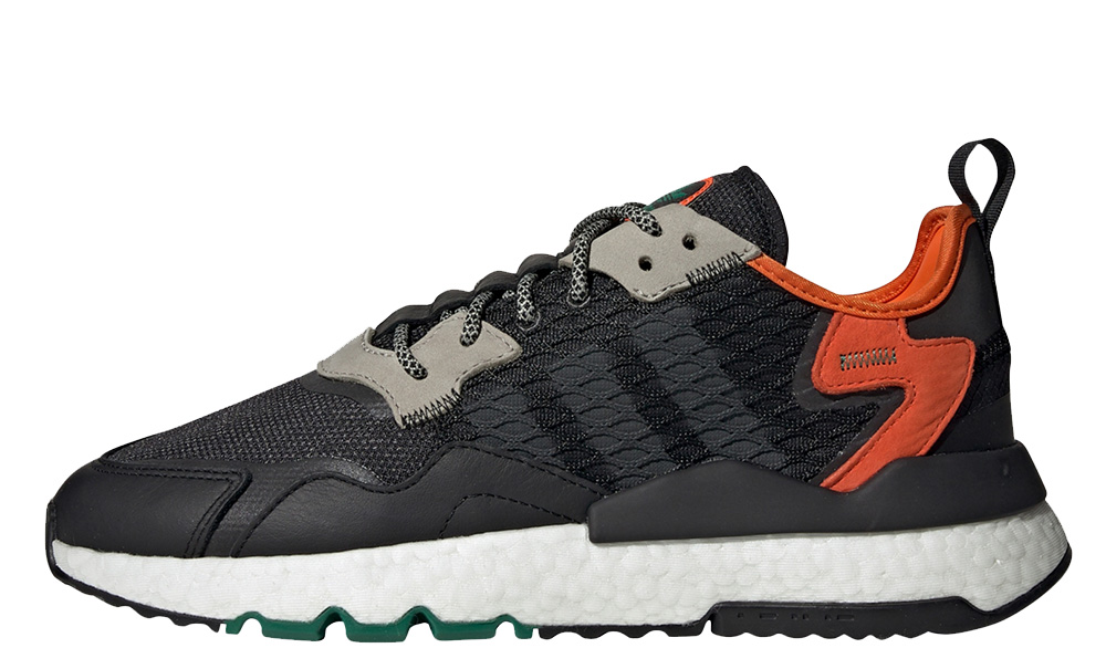 adidas Nite Jogger Black Orange EE5549