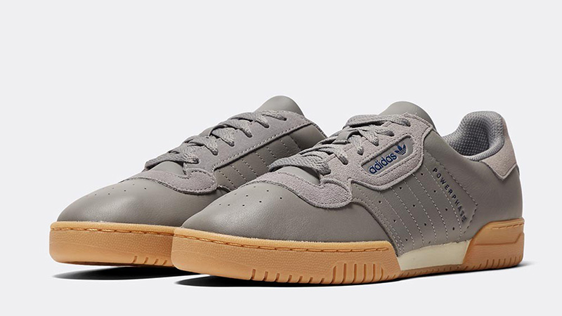 adidas Powerphase Grey Heather front