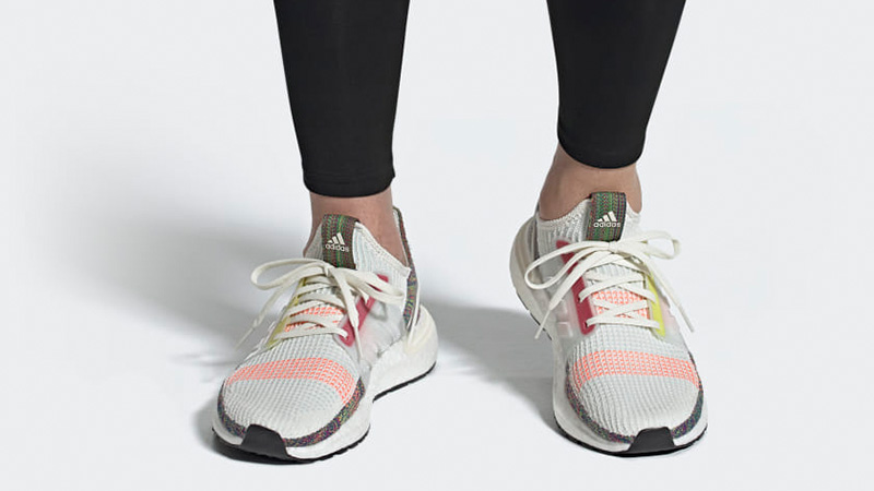 adidas Ultra Boost 19 Pride EF3675 on foot