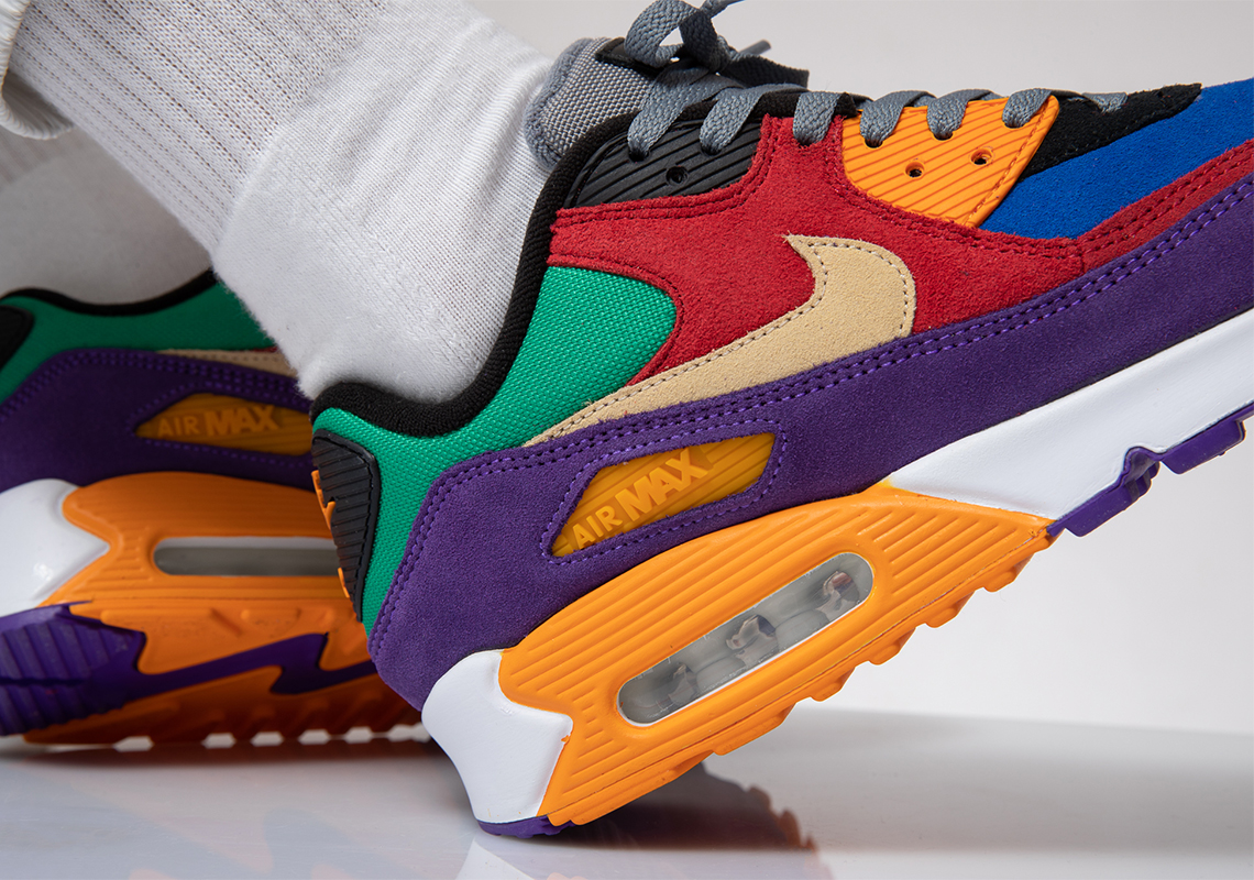 The Nike Air Max 90 'Viotech' Will Drop In The OG Colour