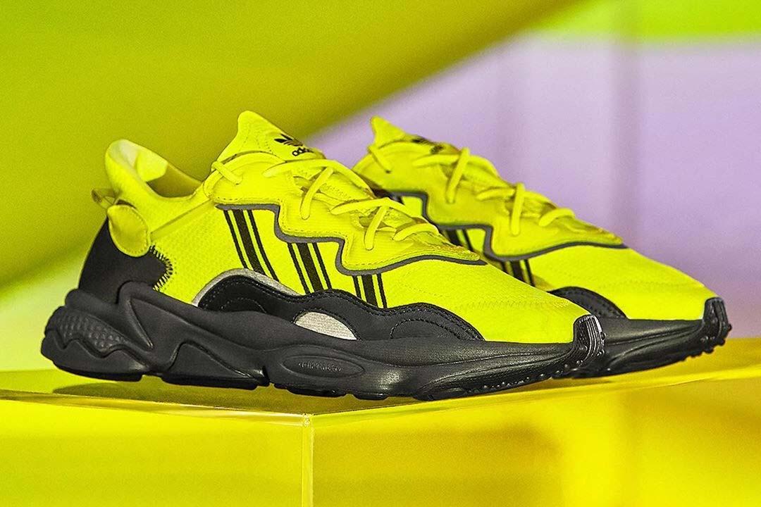 Turn Heads This Season With The adidas Ozweego 'Solar Yellow'