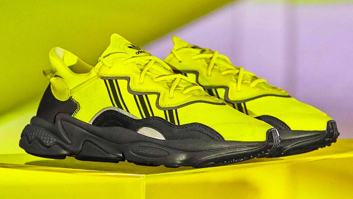 Turn Heads This Season With The adidas Ozweego 'Solar Yellow ...