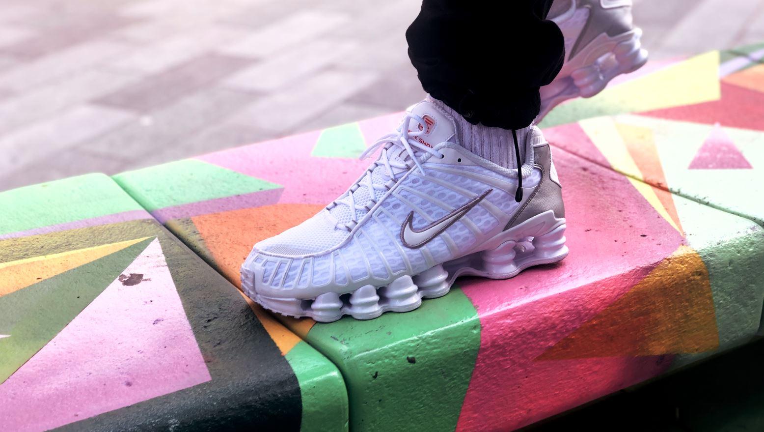 Nike Shox TL 'White Metallic Silver