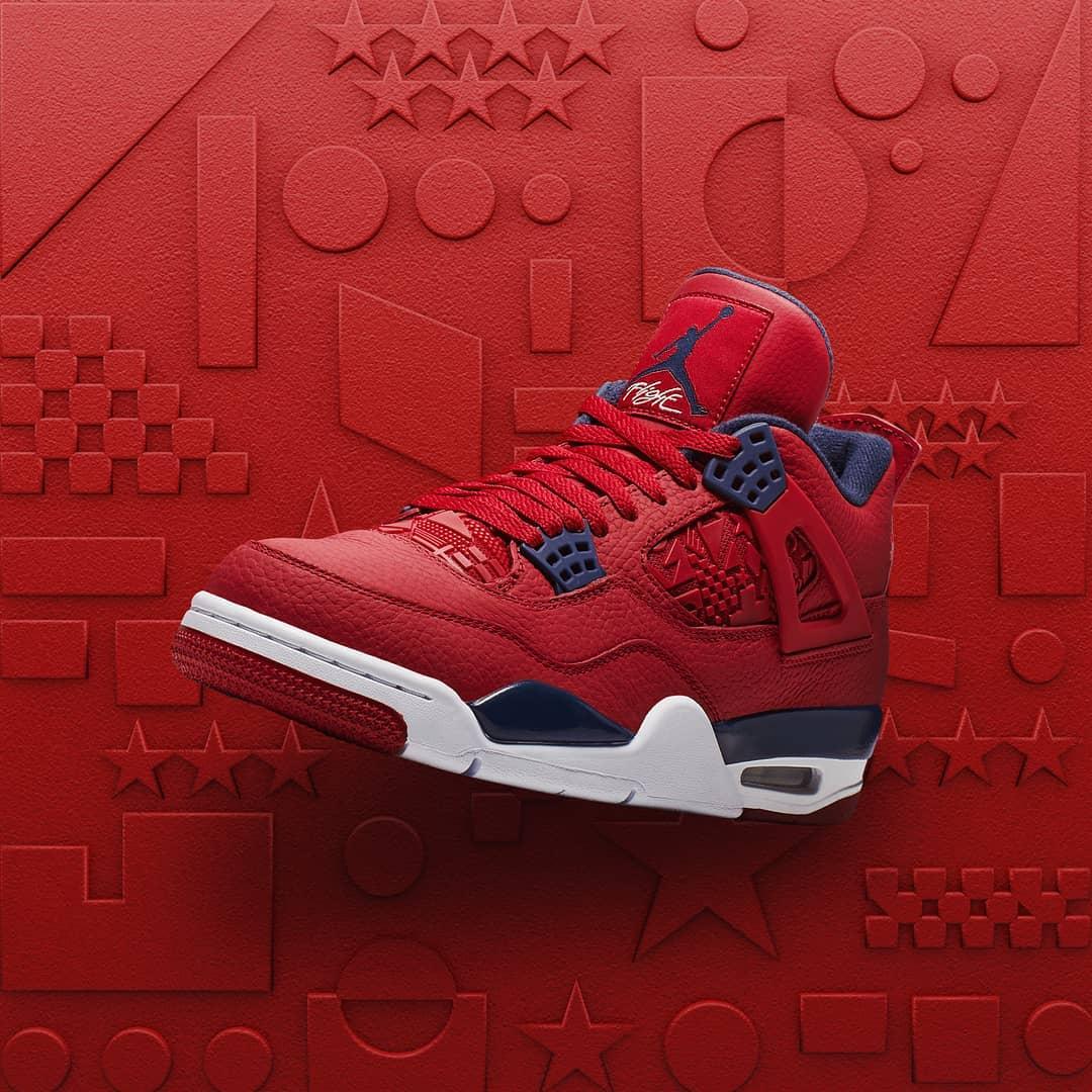 The Jordan 4 FIBA Red Is Still