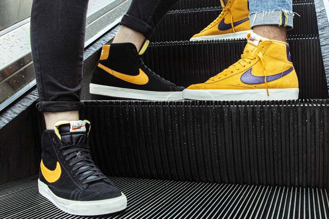 Update Your Autumn Rotation With The Nike Blazer 'Black' And 'Yellow'