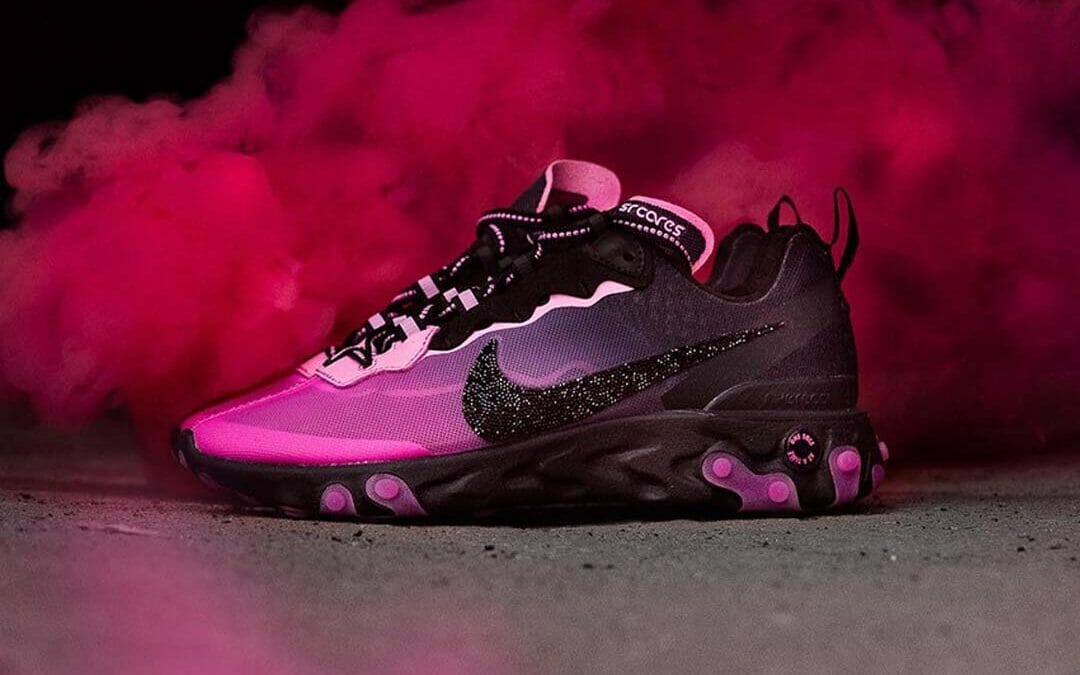 Nike Spreads Breast Cancer Awareness With A React Element 87 Collection