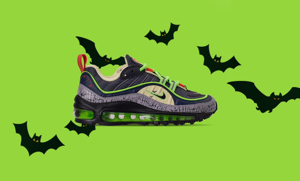 The Nike Air Max 98 'Halloween' Is A Spooky Reimagining