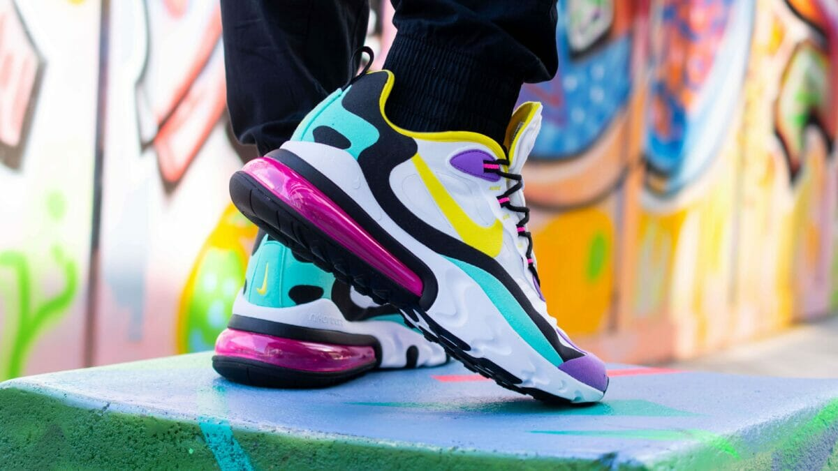The Nike Air Max 270 React Geometric Abstract Is A Must This Autumn