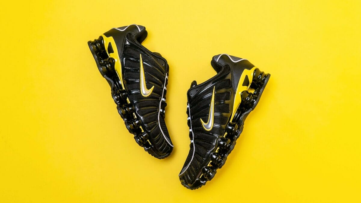 An Exclusive Unboxing Of The Nike Shox TL Black/Yellow