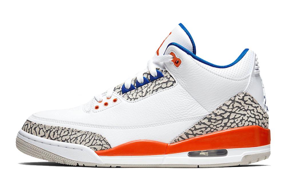 Jordan 3 Knicks GS Orange Blue 398614-148
